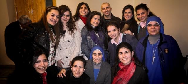 Festejos por la Pascua en Siria