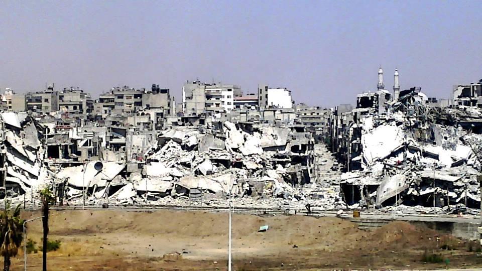 Resultado de imagen para city destroy siria