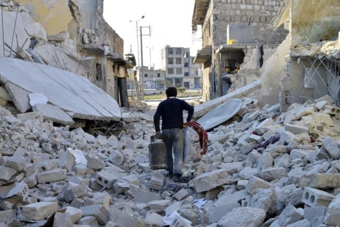 Las condiciones de vida en Alepo son aterradoras.