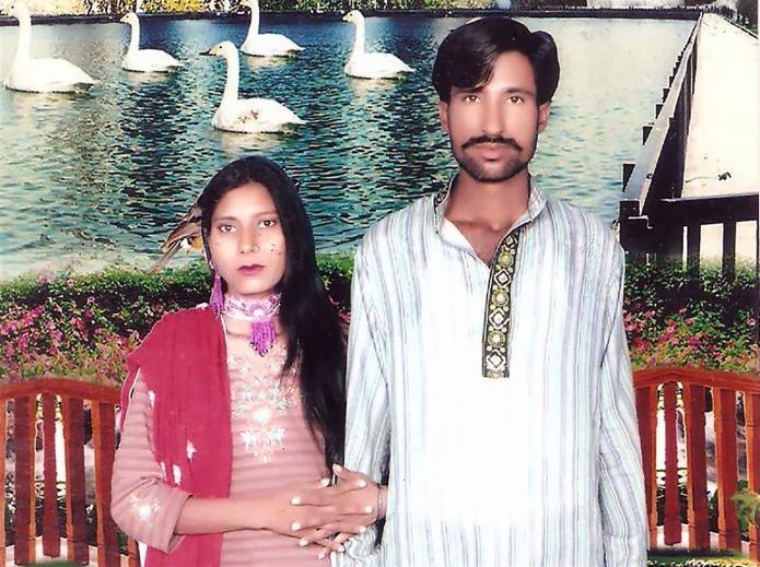 Shahbaz Masih y Shama Bibi.