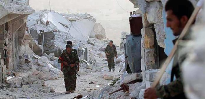 El Ejército gubernamental sirio toma bajo control el área de Masakin-Hanano.