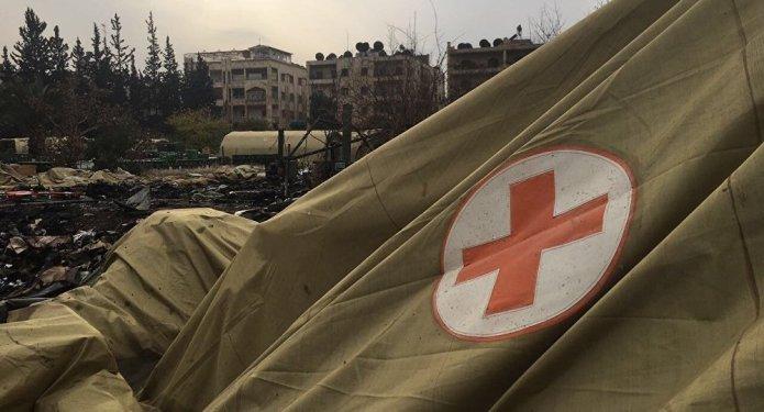 Ataque rebelde contra un hospital de campaña ruso en Alepo.