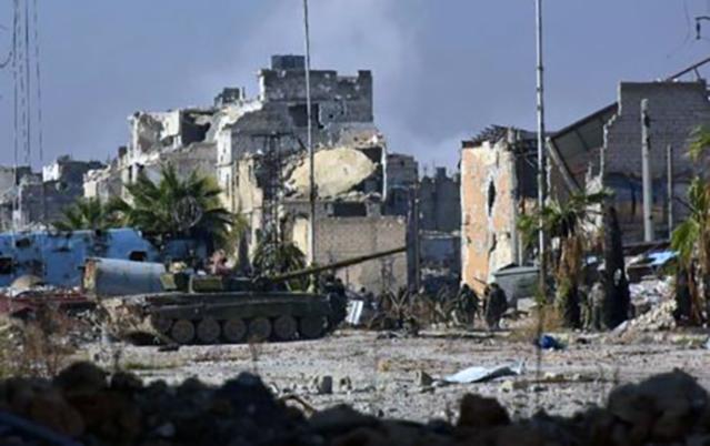 Batalla por Alepo.