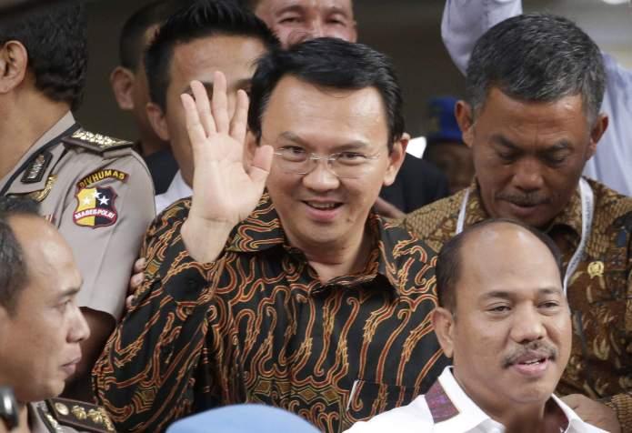 Gobernador de Yakarta.